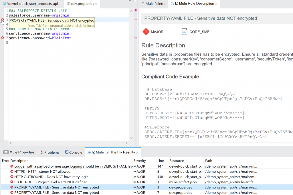 mulesoft static code analysis and how it is better than MuleLint. Mulesoft Code quality.