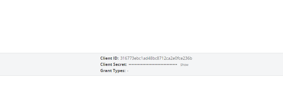 Client Creds